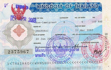 Визы и Таиланд