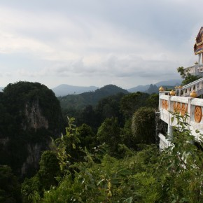 Физ. упражнения в Ват Тхам Суа (он же Tiger Cave Temple)