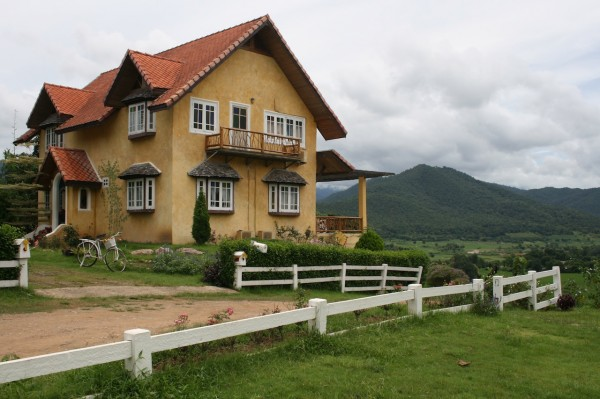 beauty house in pai