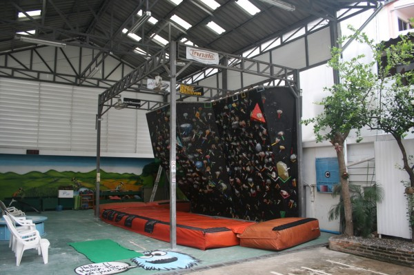 Скалодром в Чианг Мае
