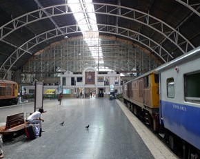 Расписание железных дорог Таиланда