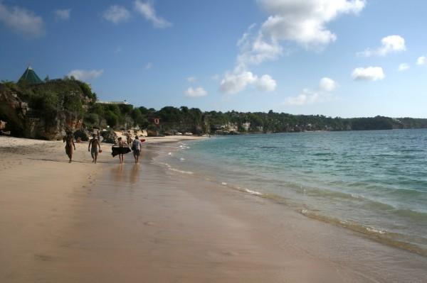 пляж dreamland