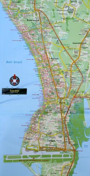карта аэропорта куты на бали